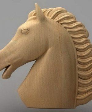 حیوانات اسب چوبی 1901