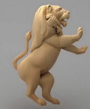 حیوانات شیر چوبی1902