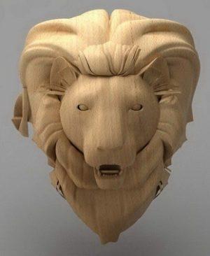 حیوانات شیر چوبی1903