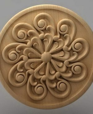 منبت دکوری گرد چوبی5218