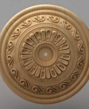 منبت دکوری گرد چوبی5226