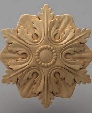 منبت دکوری گل چوبی 5431