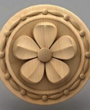 منبت گل چوبی