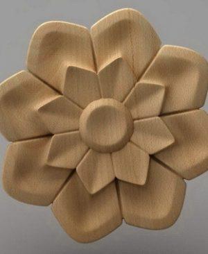 گل چوبی
