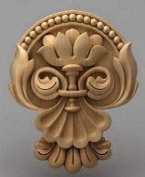 منبت دکوری چوب 6808