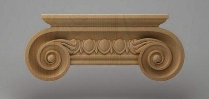 سرستون چوبی 2427
