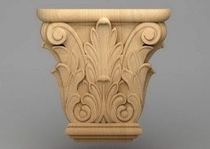 سرستون چوبی 2413