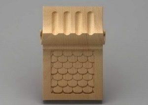سرستون چوبی 2421