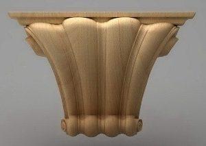 سرستون چوبی 2419