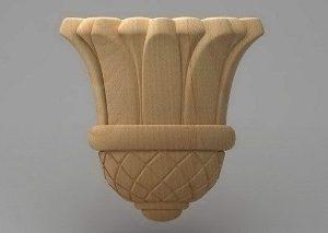 سرستون چوبی 2420