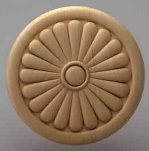 منبت دکوری گرد چوبی5205
