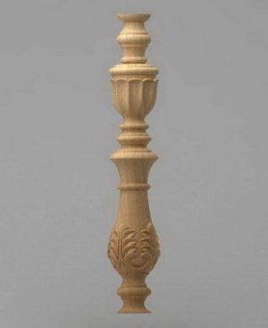نرده راه پله منبت چوبی