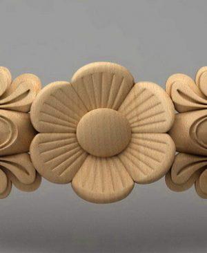 منبت دستگیره چوبی4003