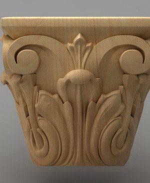 سرستون چوبی 2405