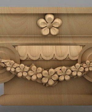 سرستون چوبی 2430
