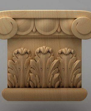 سرستون چوبی 2431