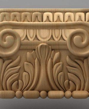 سرستون چوبی 2432